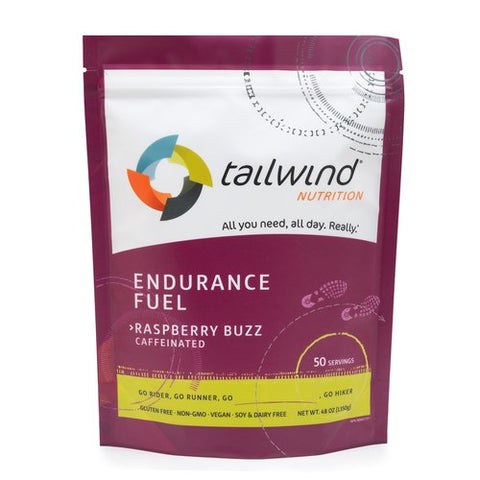 TAILWIND Caffeinated Endurance Fuel - Raspberry Buzz