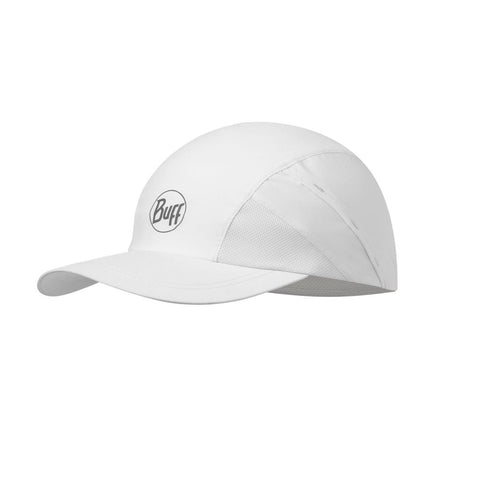 BUFF Reflective Pro Run Cap R-Solid White