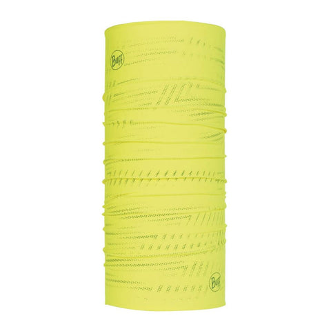 BUFF Reflective Neckwear - R-Solid Yellow Fluor