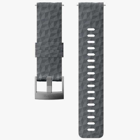 SUUNTO 24mm Explore 1 Silicone Strap - Graphite Gray