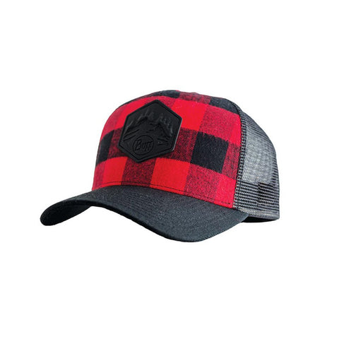 BUFF Trucker Cap Red Plaid