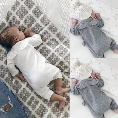 Newborn Wings Lacing Romper