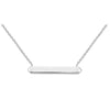 Kit Heath Silver Bar Necklace | Manhattan