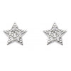 Silver Sparkly Star Earrings | Jewellery