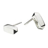 Kit Heath Silver Bar Stud Earrings