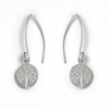 Silver Tree of Life Earrings | Tales From The Earth | jewellery