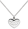 Silver Heart Pendant | Necklace | Jewellery