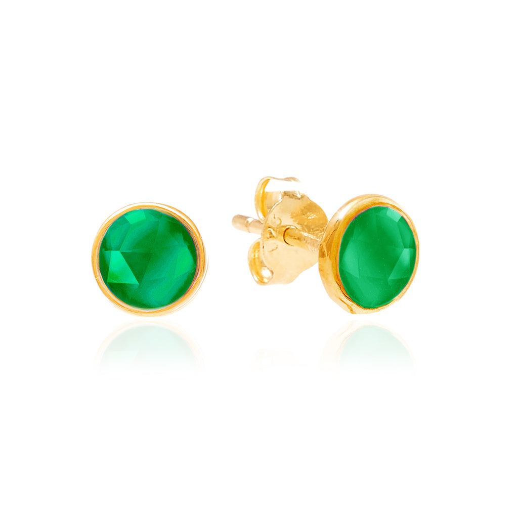 Rodgers and Rodgers Birthstone Stud Earrings - May