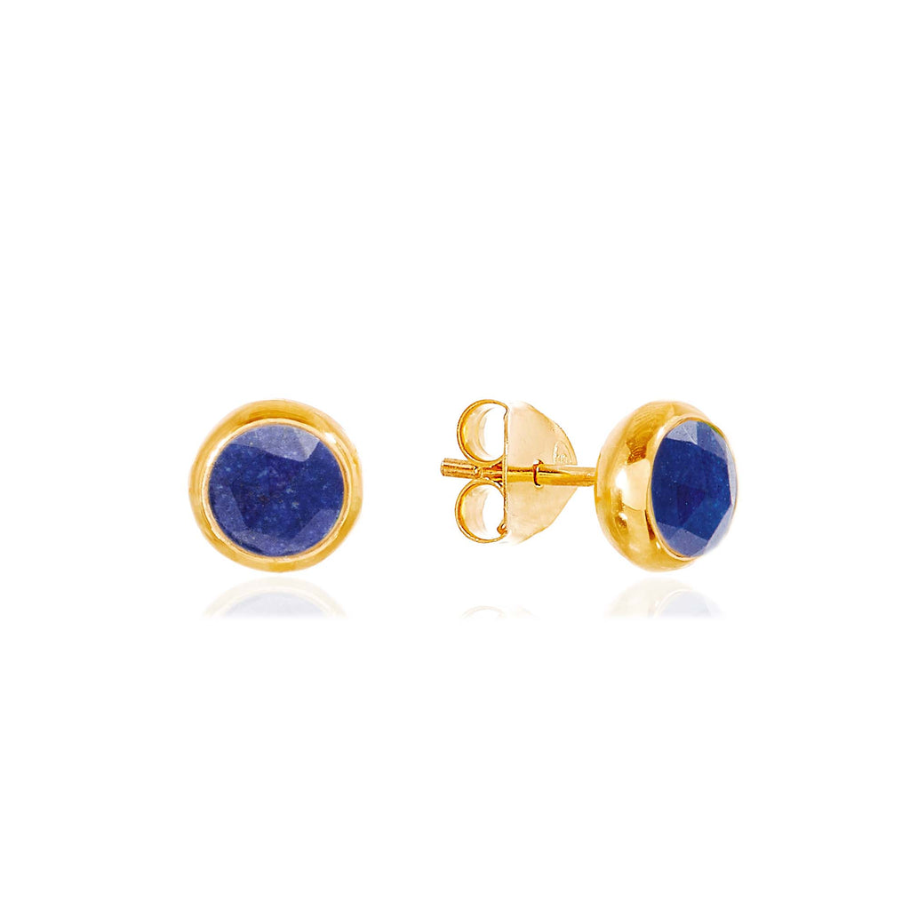Rodgers and Rodgers Birthstone Stud Earrings - September