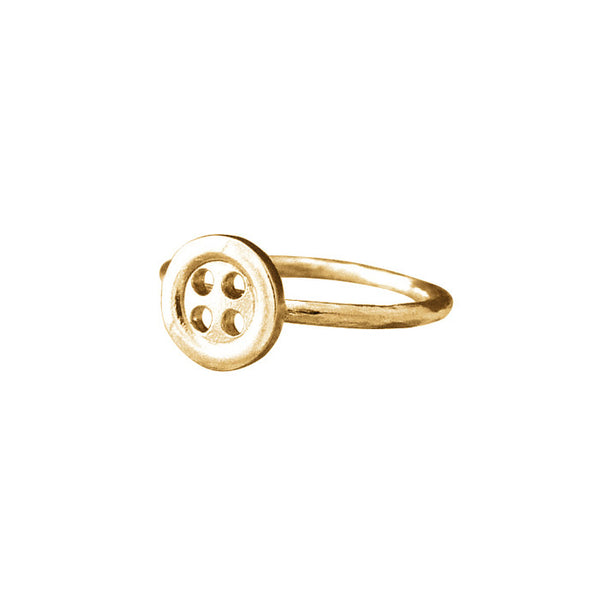 Alexis Dove Sale - Alexis Dove Button Ring - Designer Rings - Silverado