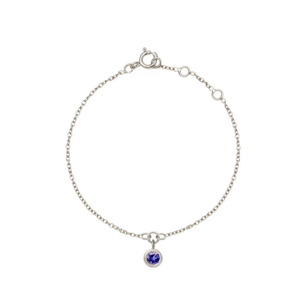 Rodgers and Rodgers Iolite Charm Bracelet