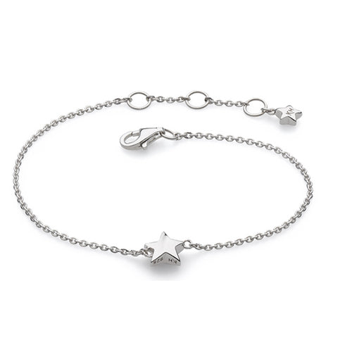 Kit Heath - Kit Heath Mini Star Bracelet - Designer Bracelets - Silverado