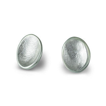 Scarlett - Scarlett Silver Touch Studs - Designer Earrings - Silverado