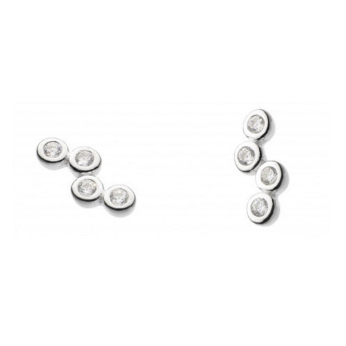 Scattered Cubic Zirconia Studs