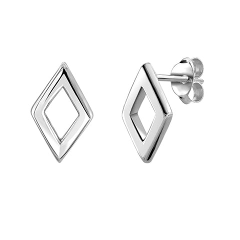 Cut-Out Diamond Studs