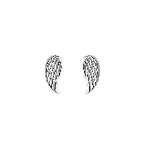 Small Angel Wing Studs