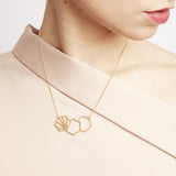 Rachel Jackson Triple Hexagon Serenity Necklace