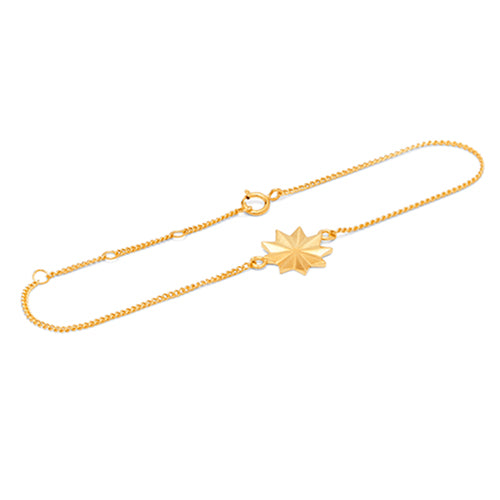 Louise Kragh - Louise Kragh Bloom Bracelet - Designer Bracelets - Silverado