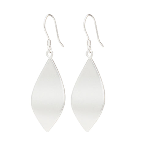 Louise Kragh Silver Leaf Earrings