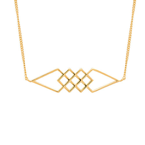 Louise Kragh - Louise Kragh Hive Necklace - Designer Necklaces - Silverado