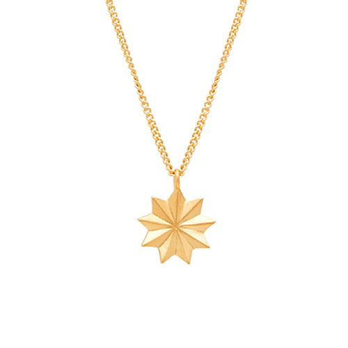 Louise Kragh - Louise Kragh Bloom Necklace - Designer Necklaces - Silverado