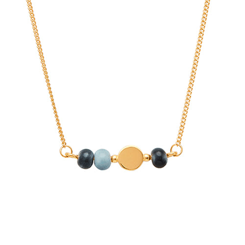 Louise Kragh - Louise Kragh Colour Necklace - Designer Necklaces - Silverado