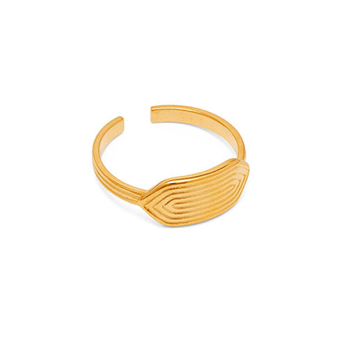 Louise Kragh - Louise Kragh Maze Ring - Designer Rings - Silverado