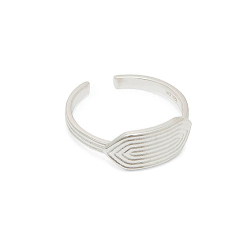 Louise Kragh - Louise Kragh Silver Maze Ring - Designer Rings - Silverado