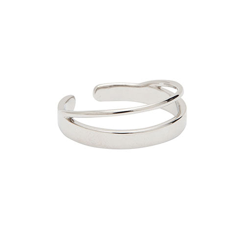 Louise Kragh - Louise Kragh Silver Hang Around Ring - Designer Rings - Silverado
