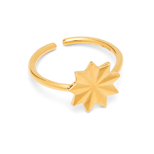 Louise Kragh - Louise Kragh Bloom Ring - Designer Rings - Silverado
