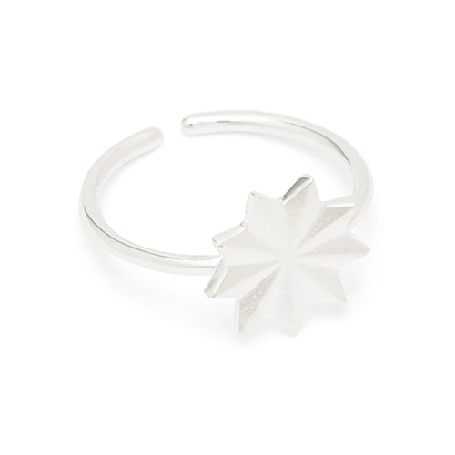 Louise Kragh - Louise Kragh Silver Bloom Ring - Designer Rings - Silverado