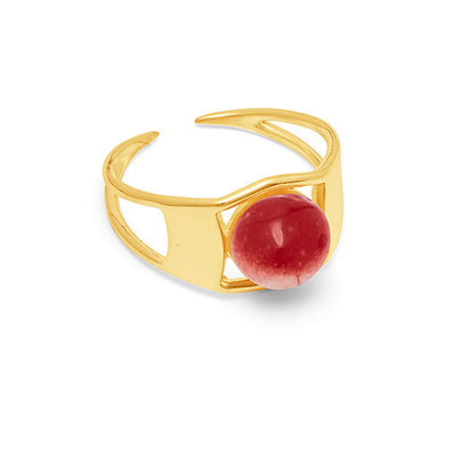 Louise Kragh - Louise Kragh Arch Ring - Designer Rings - Silverado