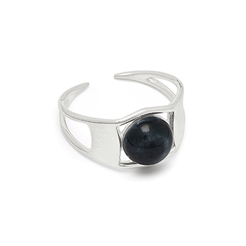 Louise Kragh - Louise Kragh Silver Arch Ring - Designer Rings - Silverado