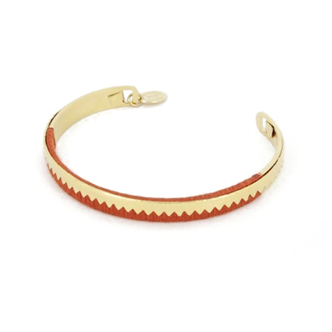 Medecine Douce Inca Bangle - Red