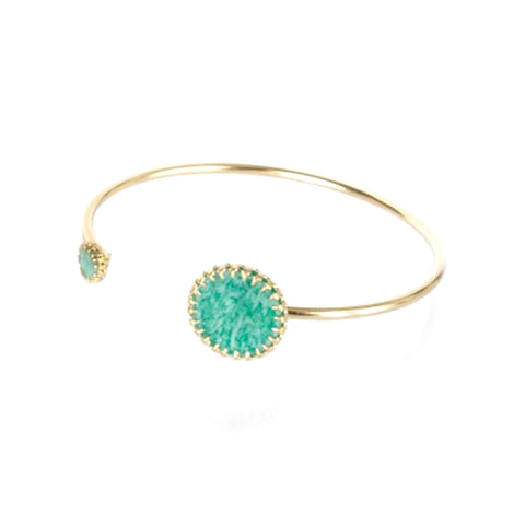 Medecine Douce Amazonite Bangle