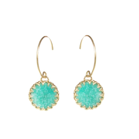 Medecine Douce Amazonite Earrings