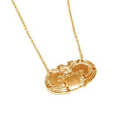 Alex Monroe Amour Necklace