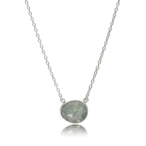 Rodgers and Rodgers Silver and Labradorite Riviera Necklace