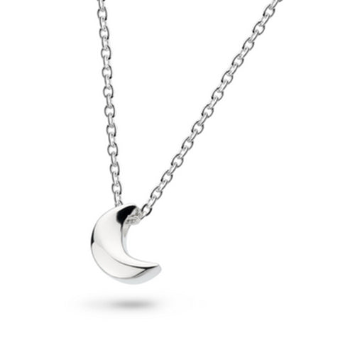 Kit Heath - Kit Heath Mini Moon Necklace - Designer Necklaces - Silverado