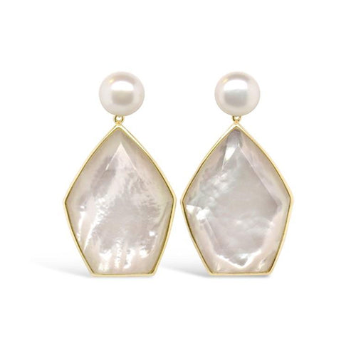 Olivia and Pearl Aphrodite Statement Earrings