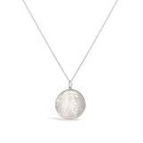 Olivia and Pearl Silver Mini Aphrodite Pendant