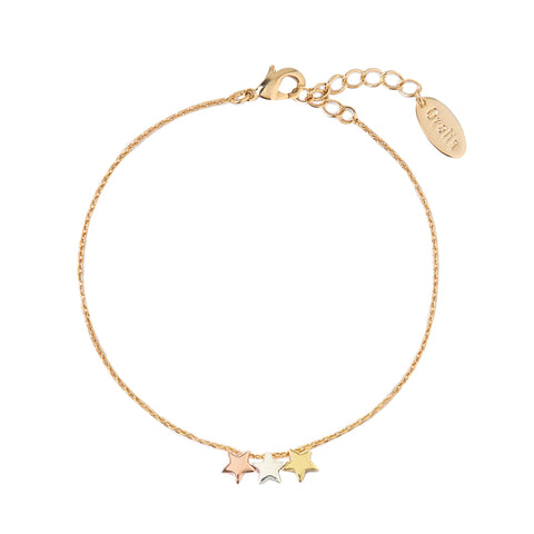 Orelia Three Star Bracelet