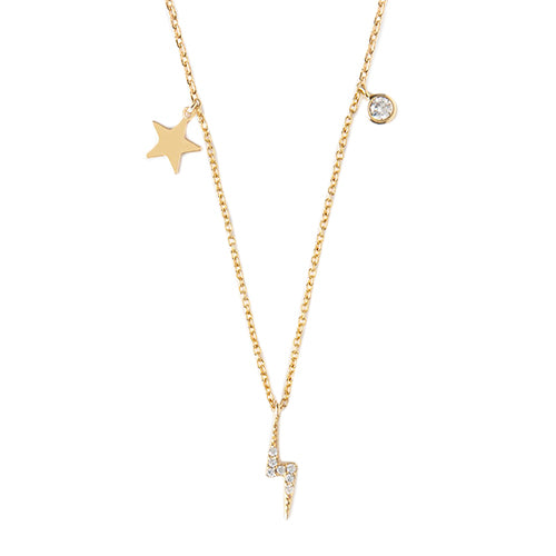 Orelia Celestial Charm Necklace