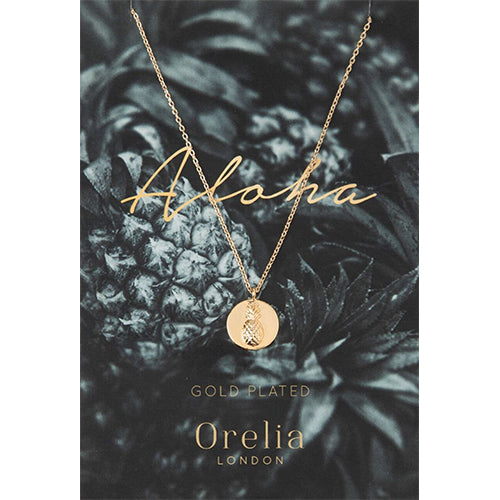 Orelia Aloha Pineapple Necklace