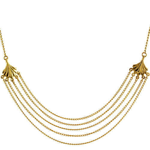 Rosie Kent - Rosie Kent Arcade Necklace - Silverado - Designer Necklaces