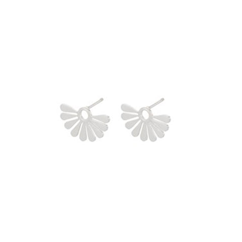 Pernille Corydon Silver Droplet Earrings