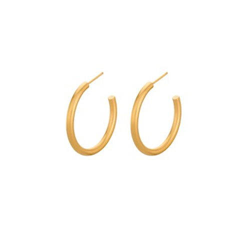 Pernille Corydon Gamma Hoop Earrings