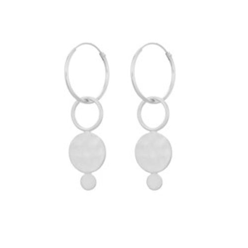 Pernille Corydon Silver Saga Earrings