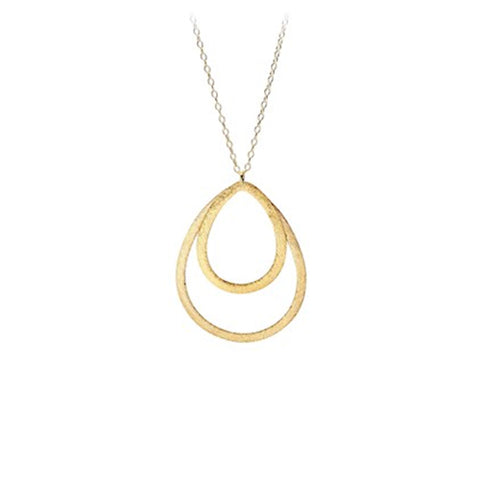 Pernille Corydon Double Drop Necklace