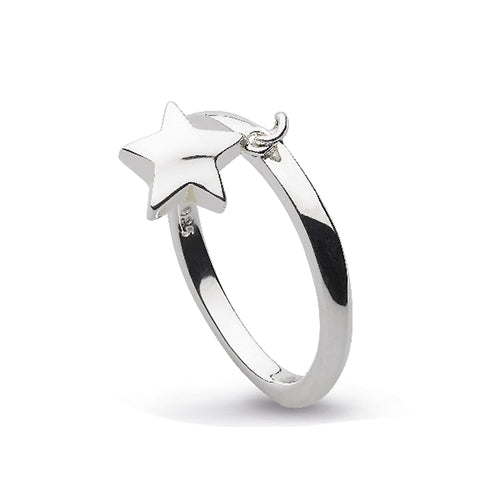 Kit Heath - Kit Heath Star Charm Ring - Designer Rings - Silverado